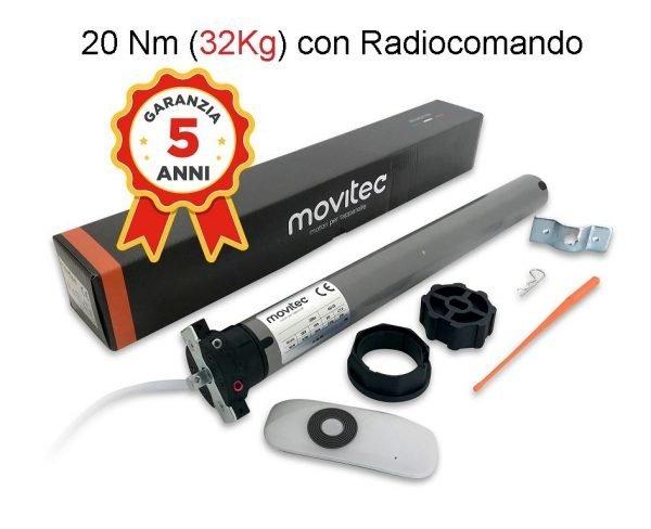 motore radio 20 nm per tapparella